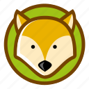 animal, fox, pet, predator icon