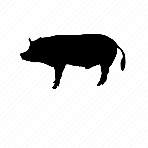animal, farm, farm animal, food, meat, pig icon