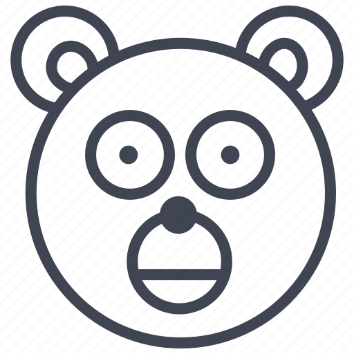 animal, animals, bear, nature, teddy, toy icon