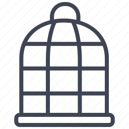 animal, animals, bird, cage, pet icon
