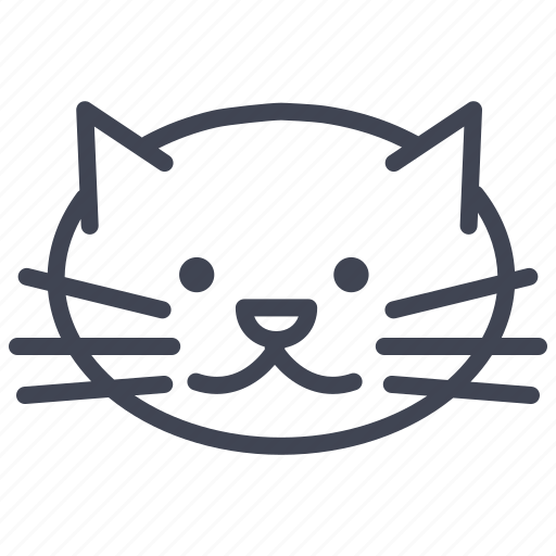 animal, cat, kitten, kitty, mitten, pet icon