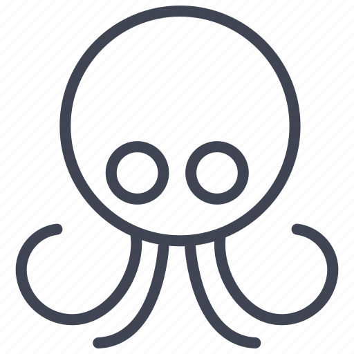 animal, animals, marine, nature, nautical, ocean, octopus icon
