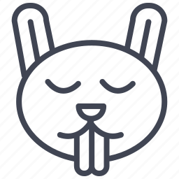 animal, bunny, easter, pet, rabbit icon