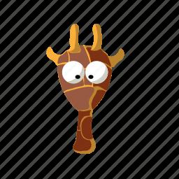 africa, animal, giraffe, nature icon