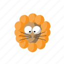 africa, african, animal, lion icon