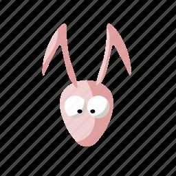 animal, cute, nature, rabbit icon