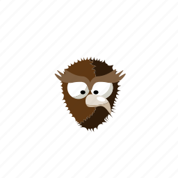 animal, bird, nature, owl icon