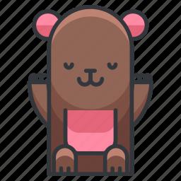 animal, bear, nature, teddy, zoo icon