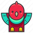 animal, animals, bird, nature, wild icon