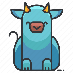 animal, animals, cow, farm, nature icon