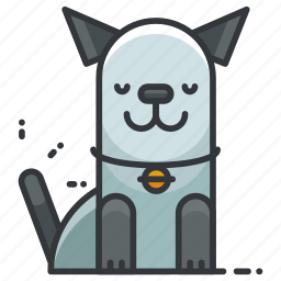 animal, animals, cue, dog, pet, puppy icon