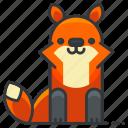fox, animal, animals, coyote, forest, wild, wolf