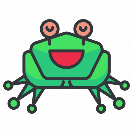 amphibian, animal, frog, nature, toad icon