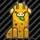 giraffe, africa, animal, wild, wildlife, zoo