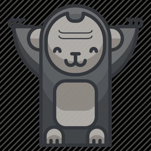 animal, animals, ape, gorilla, monkey, zoo icon