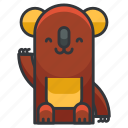animal, animals, bear, koala, wild icon