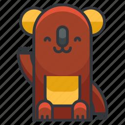animal, animals, bear, koala, wild icon