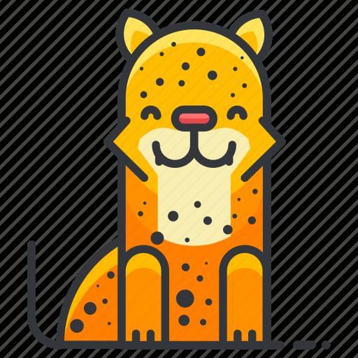 animal, animals, jungle, leopard, wild icon