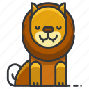 lion, animal, circus, jungle, leo, nature, zoo