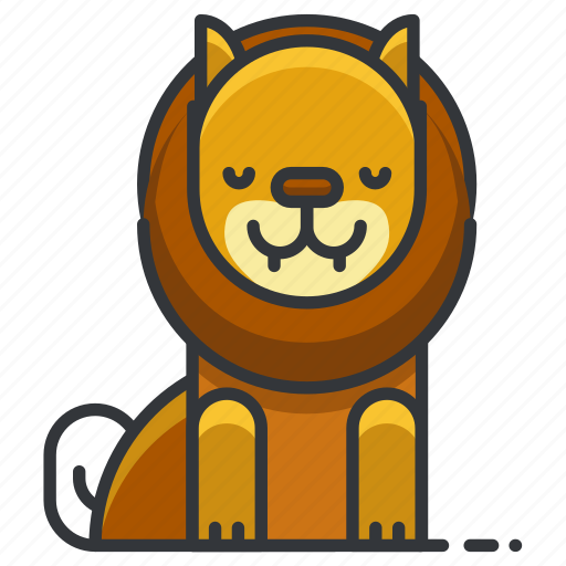 animal, circus, jungle, leo, lion, nature, zoo icon