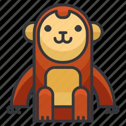animal, animals, ape, monkey, wild, zoo icon