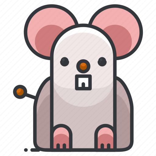 animal, animals, mouse, pet, rodent icon
