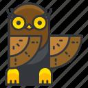 owl, animal, bird, nature, wild