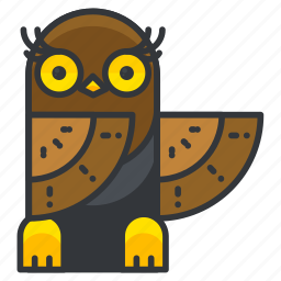 animal, bird, nature, owl, wild icon