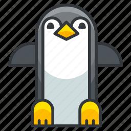 animal, bird, nature, penguin, pinguin, wild icon