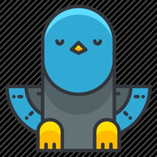 animal, bird, dove, nature, pidgeon, pigeon icon