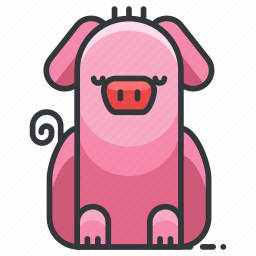 animal, animals, farm, nature, pig, piggy icon