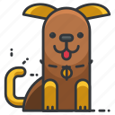 animal, animals, dog, pet, puppy icon