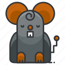 animal, mice, nature, pest, rat icon