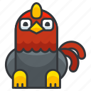 animal, chicken, farm, poultry, rooster icon