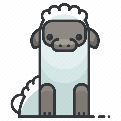 animal, animals, lamb, nature, sheep, wool icon