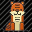tiger, animal, animals, nature, wild, zoo