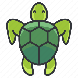 animal, animals, marine, nature, ocean, pet, turtle icon