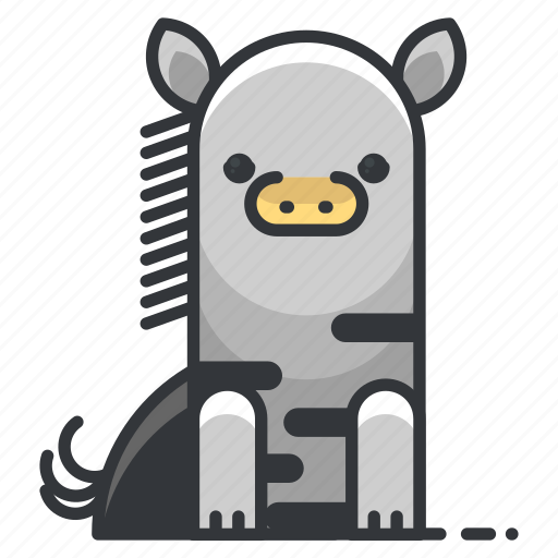 animal, animals, nature, wild, zebra, zoo icon