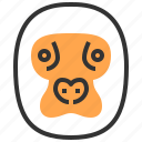 animal, face, head, king kong, monkey icon