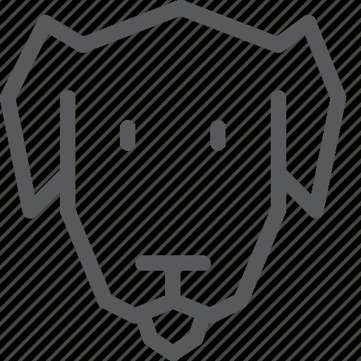 animal, dog, domestic, friend, nature, pet icon