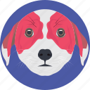 animal, dog, dog face, dog head, doggy icon