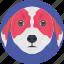 animal, dog, dog face, dog head, doggy icon