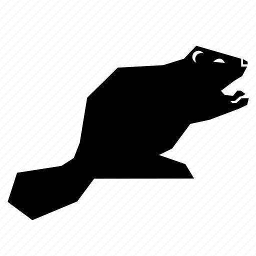 animal, beaver icon