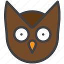 eagle-owl, owl, wisdom icon