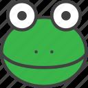 amphibian, anuran, frog icon