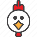 bird, chicken, hen icon