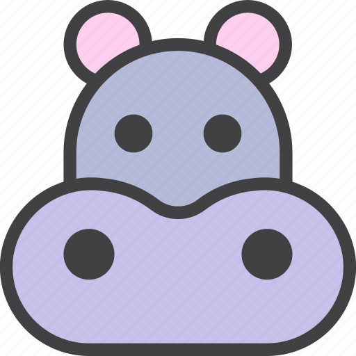 Behemoth, hippo, hippopotamus icon - Download on Iconfinder