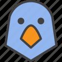 bird, head, parrot icon