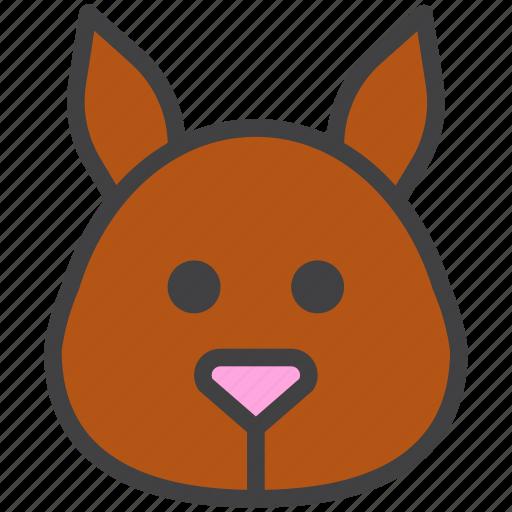 dormouse, head, squirrel icon