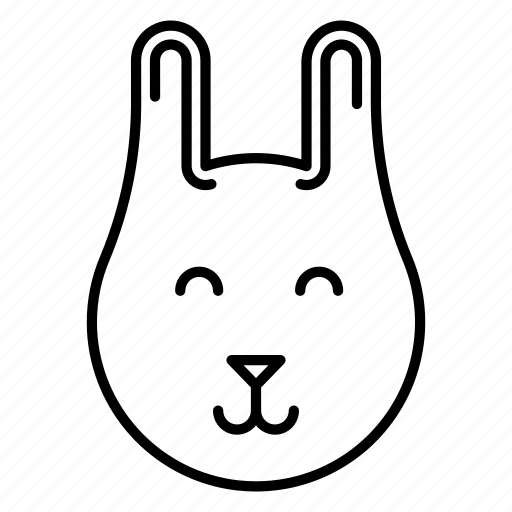 animal, bunny, hare, pet icon